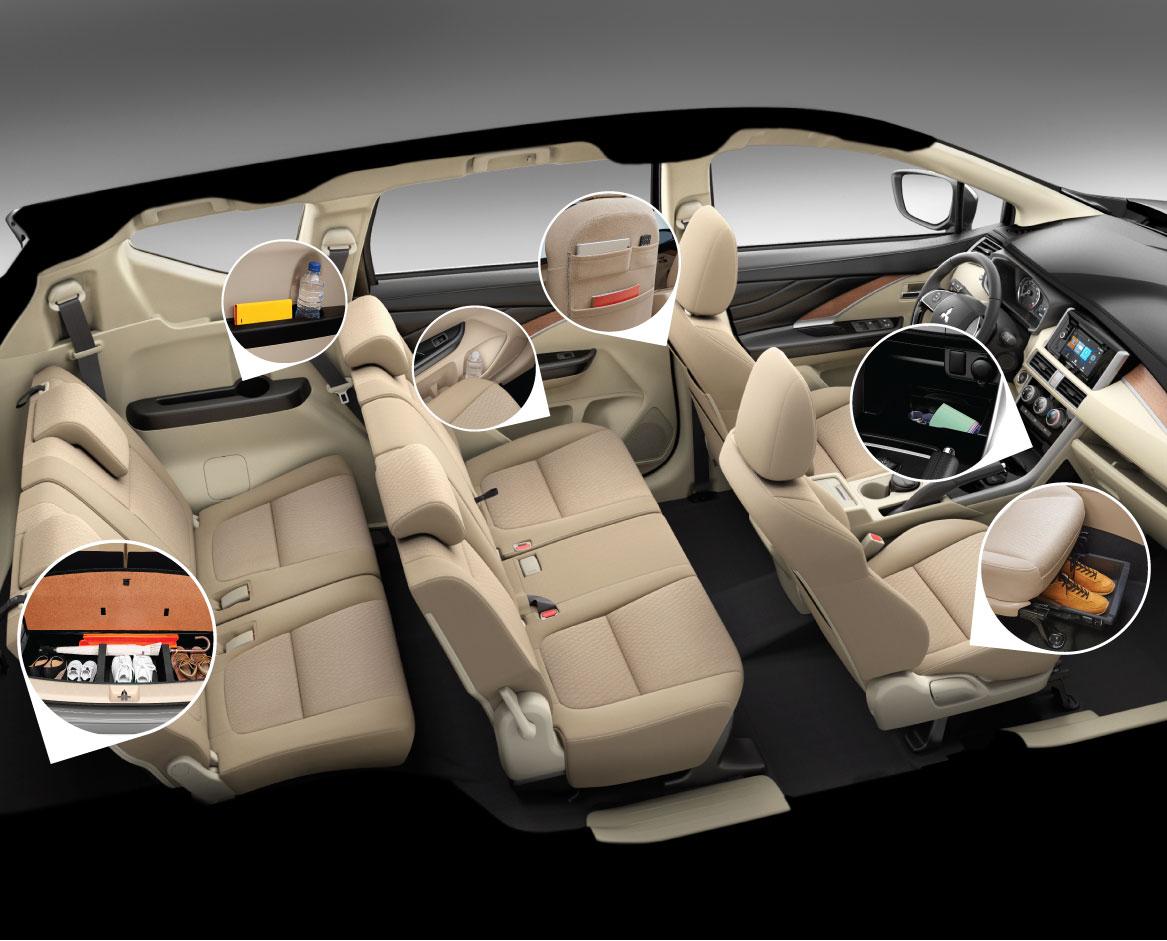 Xe Mitsubishi Xpander anh 2 - Toyota Rush: giá xe và khuyến mãi tháng [hienthithang]