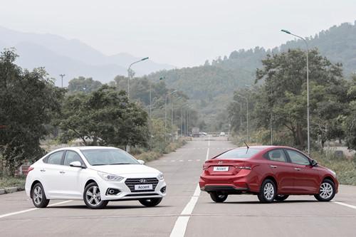 Hyundai Accent sở hữu ngoại hình trang nhã, lịch sự