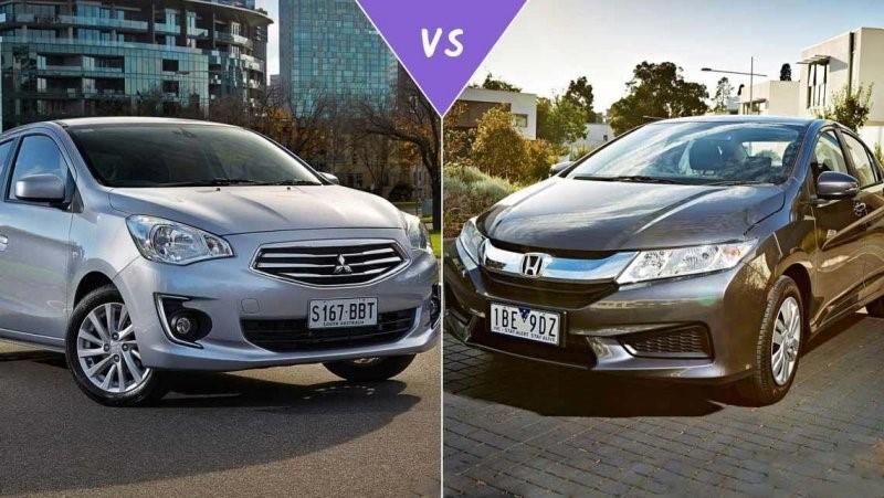 So sánh Mitsubishi Attrage và Honda City ảnh 1 - So sánh Mitsubishi Attrage và Honda City: Xe nào lái ngon/tiết kiệm