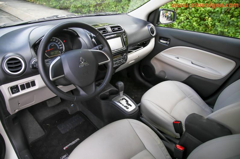 So sánh Mitsubishi Attrage và Honda City ảnh 6 - So sánh Mitsubishi Attrage và Honda City: Xe nào lái ngon/tiết kiệm