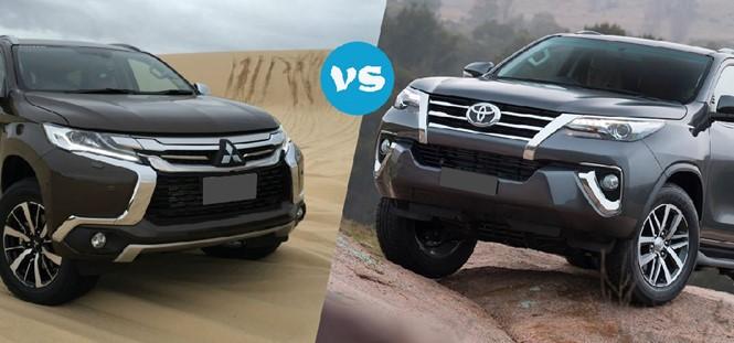 So sánh Pajero Sport và Toyota Fortuner - Cuộc so găng khốc liệt ảnh 1