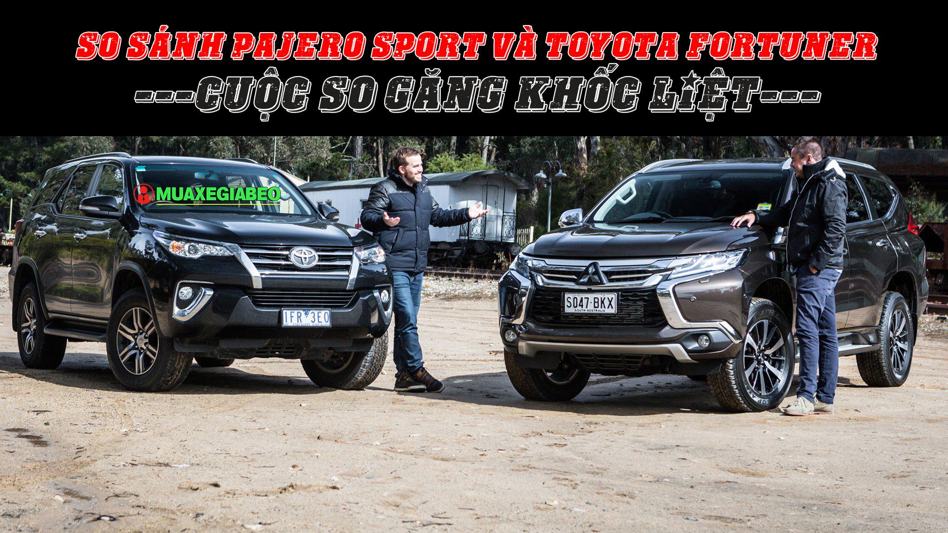 So sánh Pajero Sport và Fortuner - Cuộc so găng khốc liệt ảnh 15