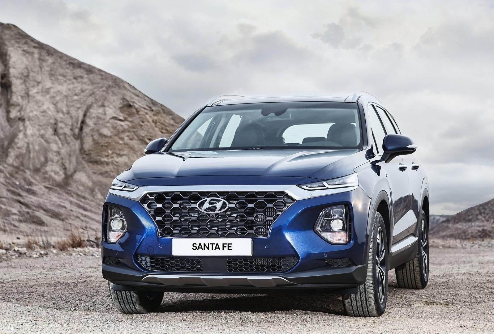 Hyundai Santafe 16 - Hyundai Santafe mới: giá xe và khuyến mãi tháng [hienthithang]/[hienthinam]