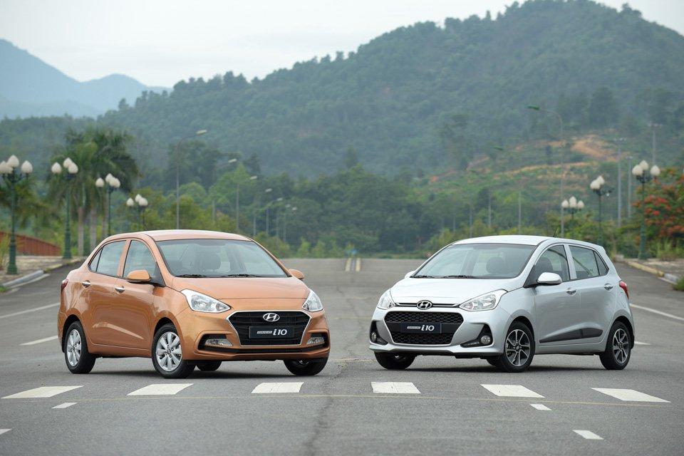Phân biệt Hyundai i10 nhập khẩu và lắp ráp trong nước - Hyundai Grand i10: giá xe và khuyến mãi tháng [hienthithang]/[hienthinam]
