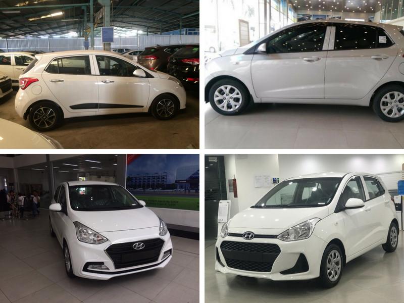 So sánh Hyundai i10 bản đủ với i10 bản thiếu ảnh 1 - Hyundai Grand i10: giá xe và khuyến mãi tháng [hienthithang]/[hienthinam]