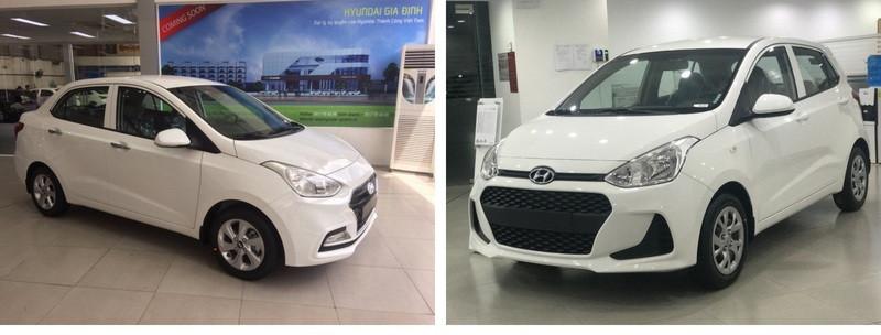 So sánh Hyundai i10 bản đủ với i10 bản thiếu ảnh 2 - Hyundai Grand i10: giá xe và khuyến mãi tháng [hienthithang]/[hienthinam]
