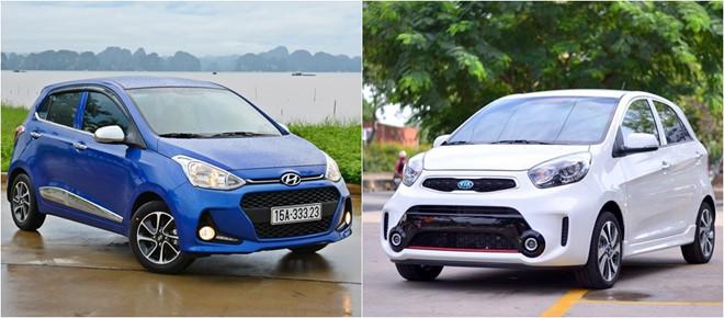 So sánh i10 với Kia Morning - Chi tiết xe Hyundai Grand i10 2020: Phá vỡ thế độc tôn