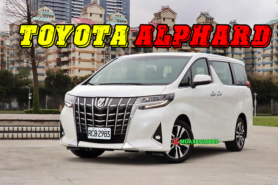 Toyota Alphard tại muaxegiabeo 24 - Giới thiệu Toyota Việt Nam