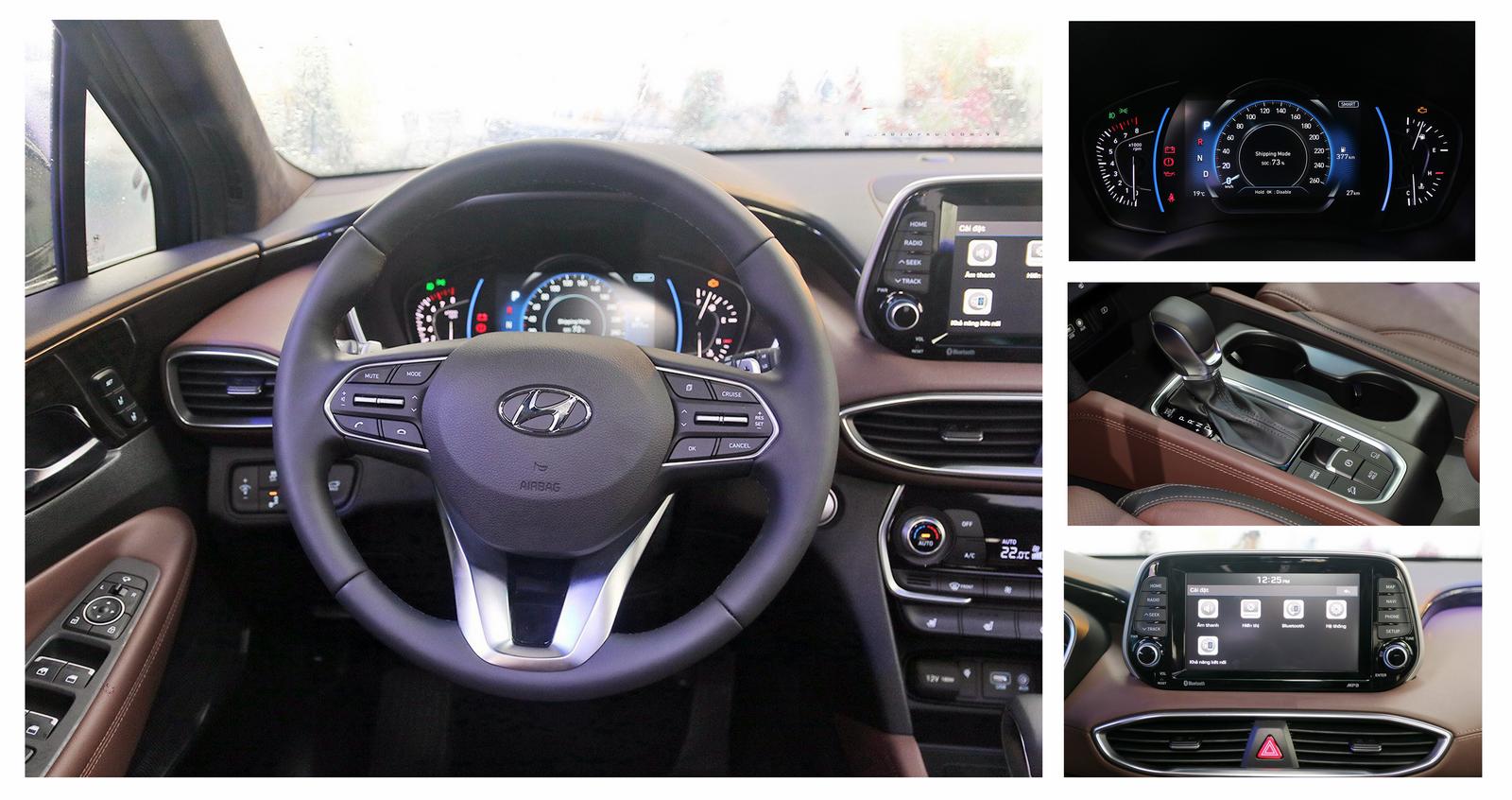 chi tiet hyundai santafe 2019 4 - Hyundai Santafe mới: giá xe và khuyến mãi tháng [hienthithang]/[hienthinam]