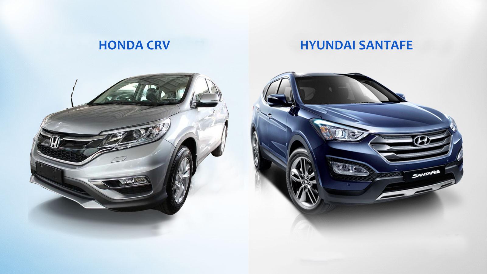 so sánh santafe và crv - Hyundai Santafe mới: giá xe và khuyến mãi tháng [hienthithang]/[hienthinam]