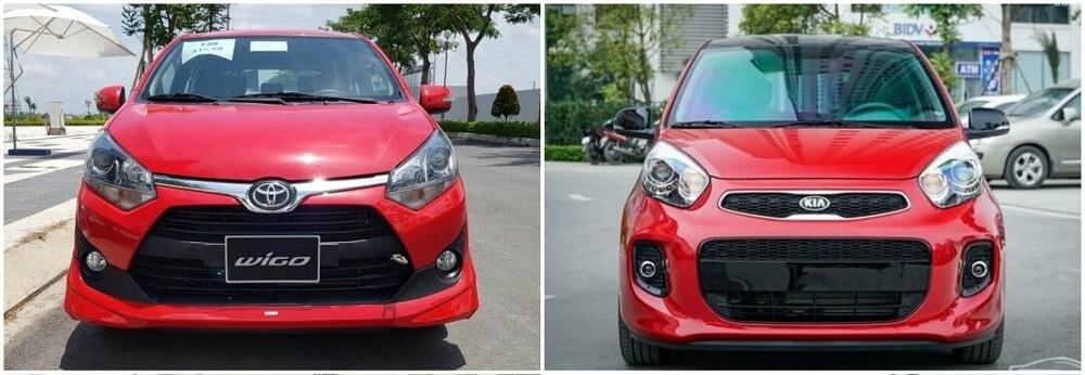 so sánh toyota wigo và kia morning 2 - So sánh xe Wigo và Kia Morning: xe 4 chỗ giá rẻ 300-400 triệu nên chọn ai