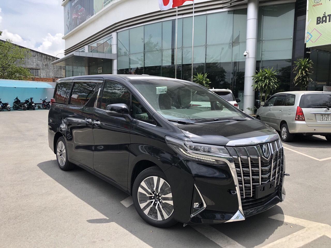 xe Alphard mau den 2019 tai muaxegiabeo 5 - Alphard 2020: khuyến mãi và giá xe tháng [hienthithang]