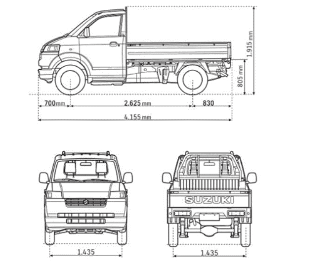Suzuki Super Carry pro anh 13 - Suzuki Carry [hienthinam]: giá xe và khuyến mãi tháng [hienthithang]