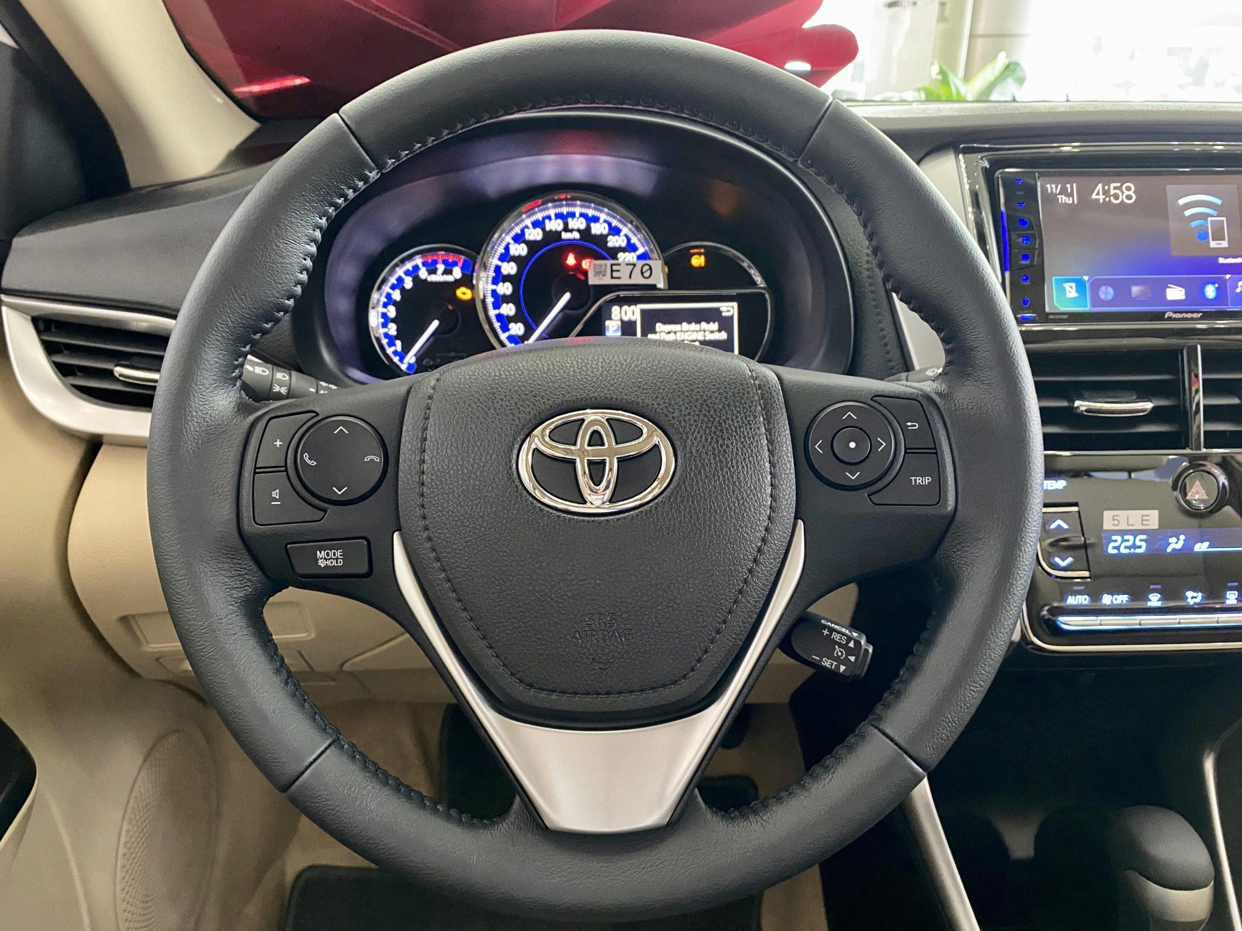 Vios 2020 G 04 scaled - Toyota Vios 2020: giá bán và khuyến mãi cập nhật mỗi 2 phút