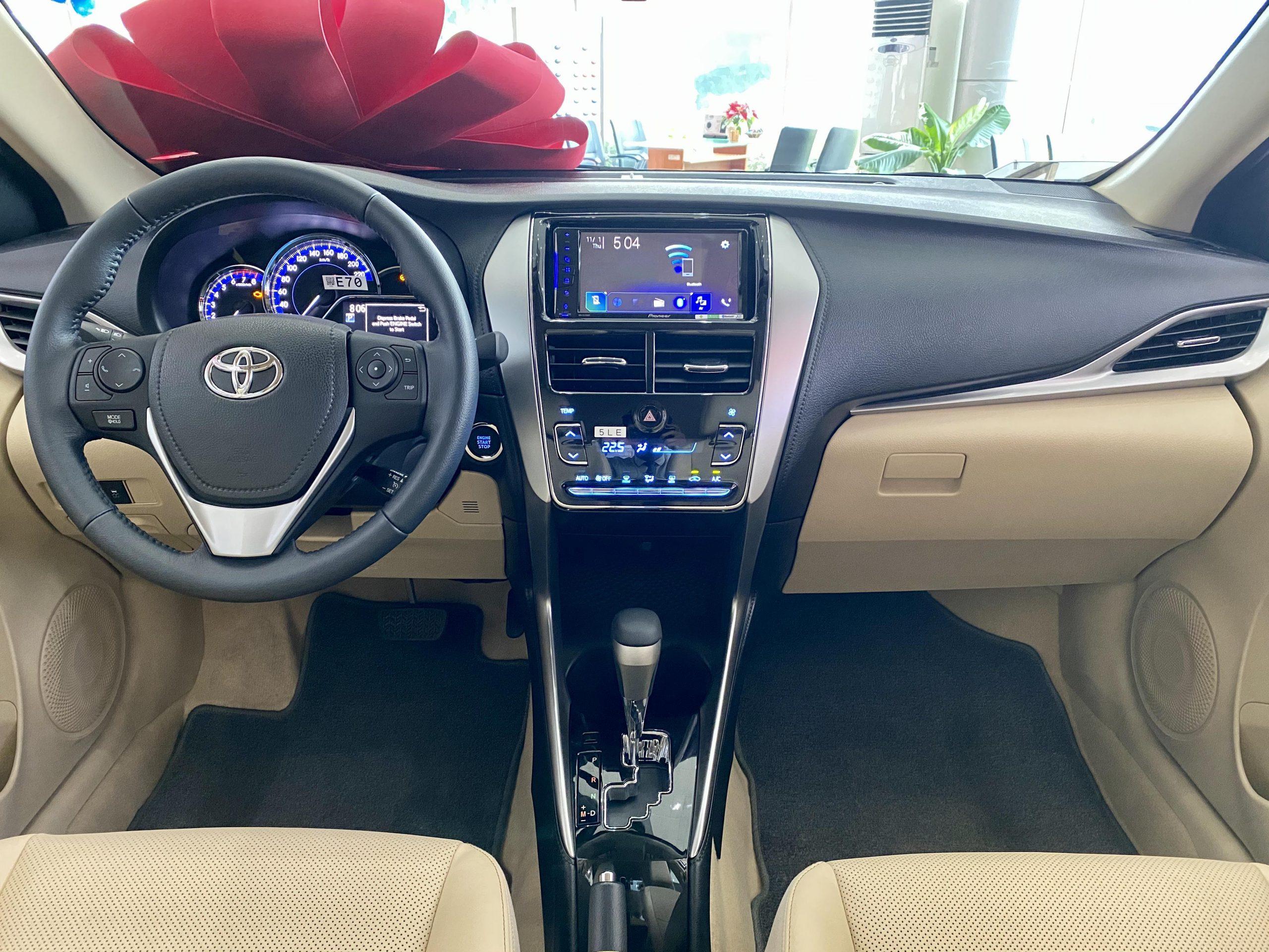 Vios 2020 G 06 scaled - Toyota Vios 2020: giá bán và khuyến mãi cập nhật mỗi 2 phút