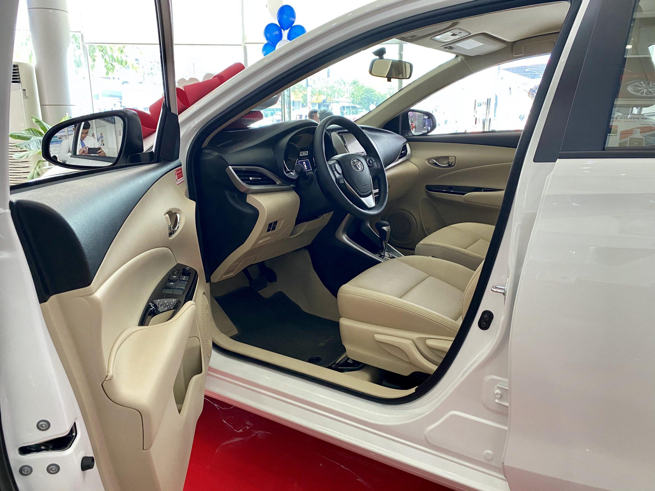 Vios 2020 G 09 scaled - Toyota Vios 2020: giá bán và khuyến mãi cập nhật mỗi 2 phút