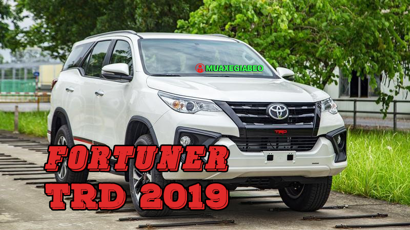 Xe Toyota Fortuner TRD 2019 anh 5