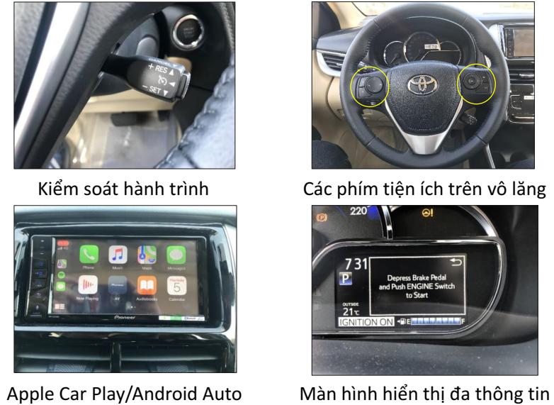 so sanh tien ich vios g 2019 voi 2020 - Toyota Vios 2020: giá bán và khuyến mãi cập nhật mỗi 2 phút