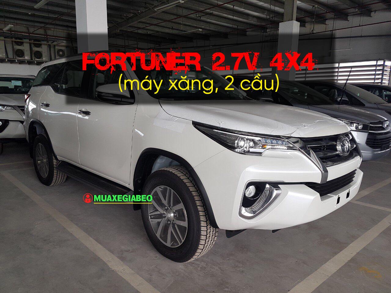 Fortuner 2.7 v 4x4 anh 4