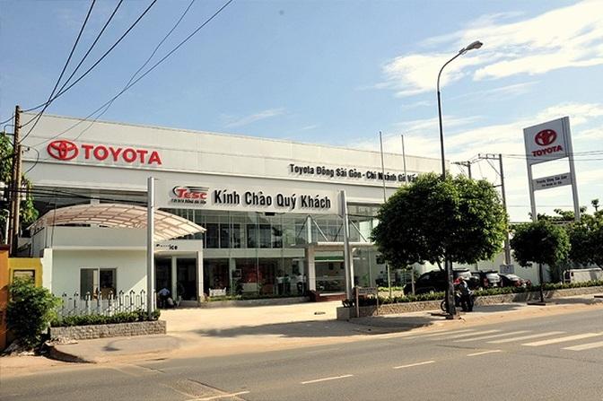 toyota dong sai gon - Giới thiệu Toyota Việt Nam