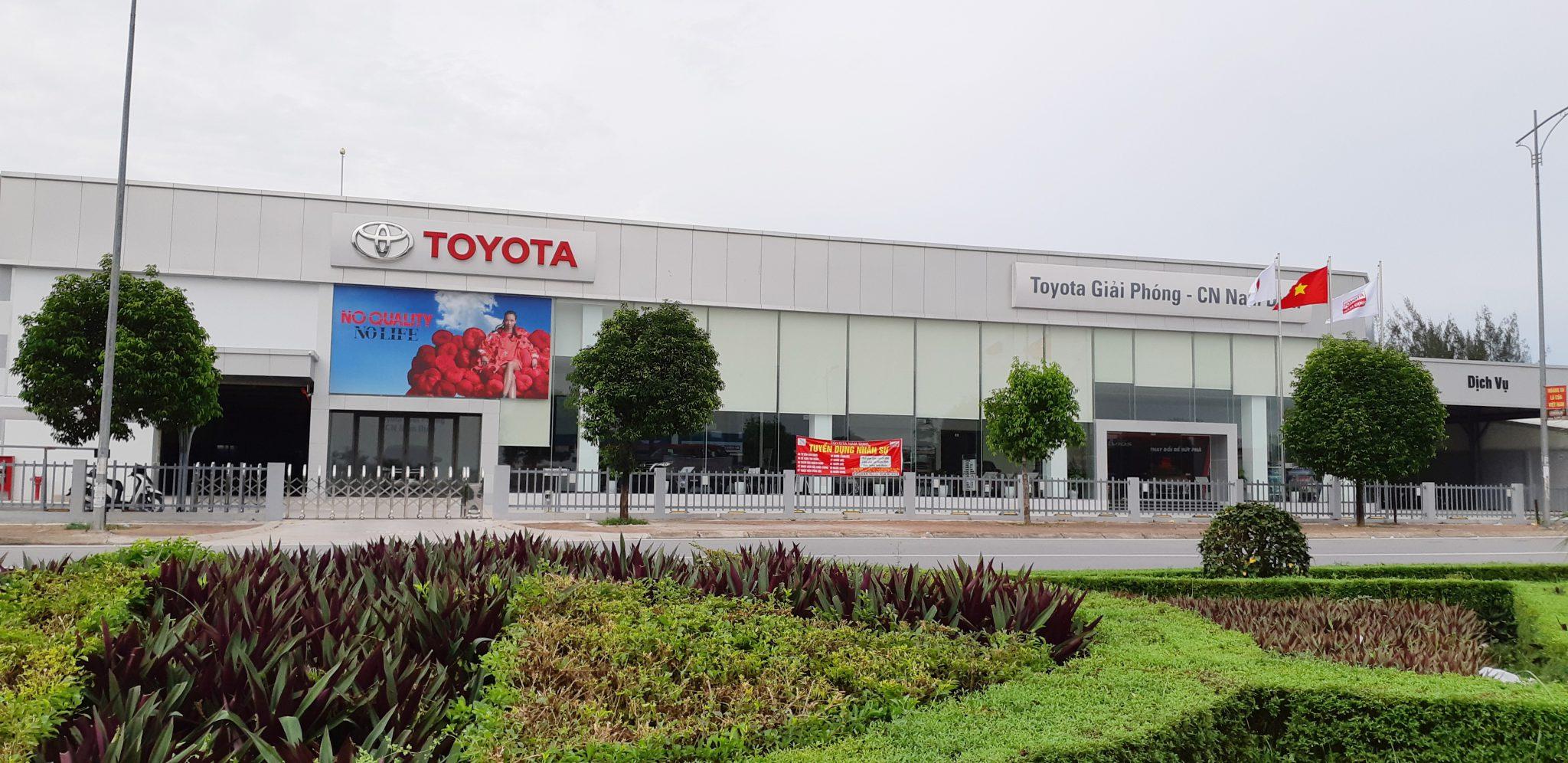 toyota giai phong - Giới thiệu Toyota Việt Nam