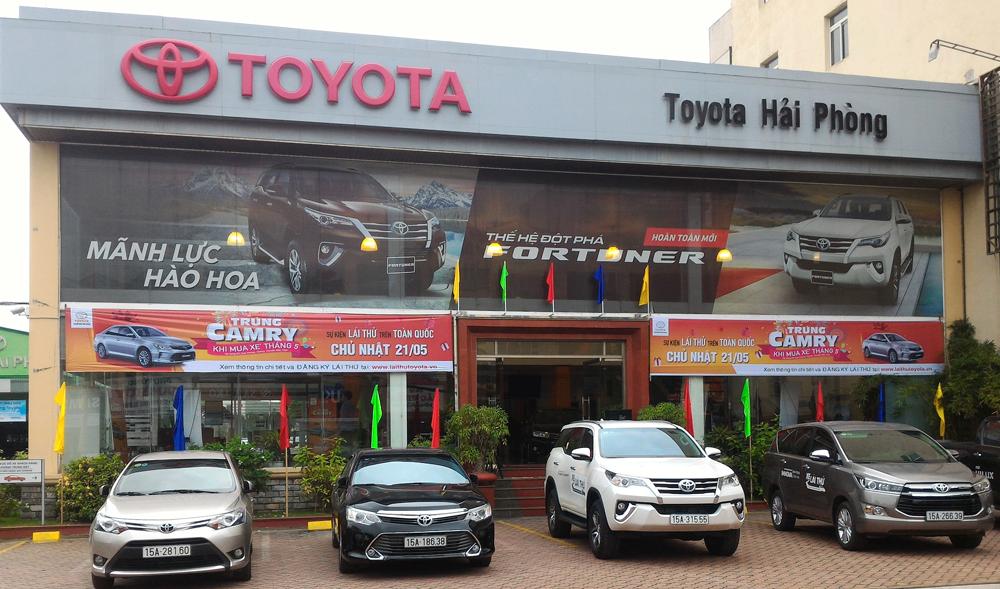 toyota hai phong - Giới thiệu Toyota Việt Nam