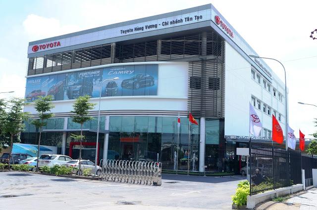 toyota hung vuong - Giới thiệu Toyota Việt Nam