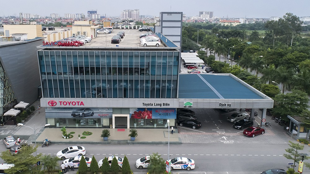 toyota long bien - Giới thiệu Toyota Việt Nam