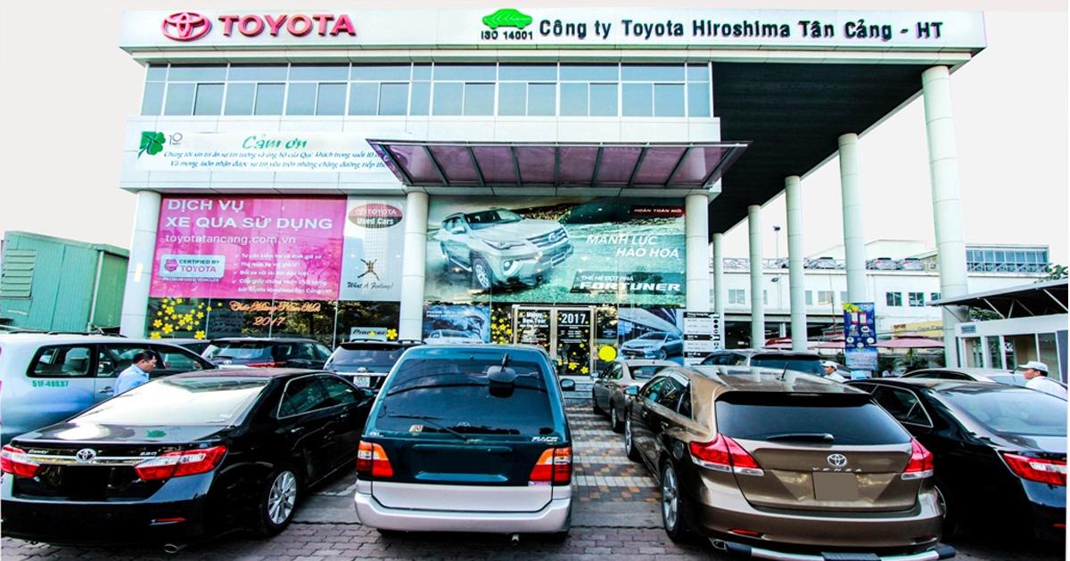 toyota tan cang - Giới thiệu Toyota Việt Nam