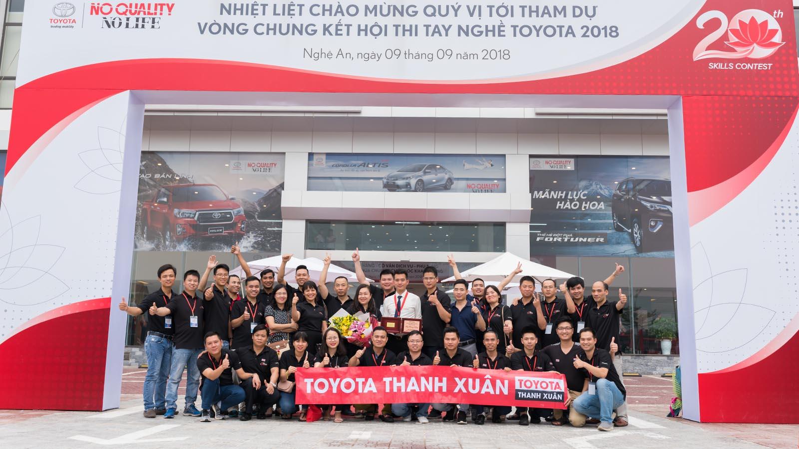 toyota thanh xuan - Giới thiệu Toyota Việt Nam