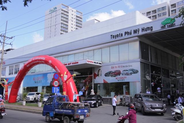 Toyota Phú Mỹ Hưng - Đại lý Toyota Phú Mỹ Hưng