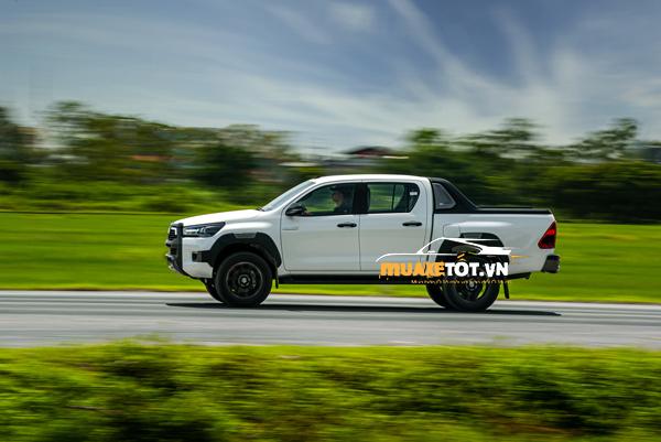 danh gia xe ban tai toyota hilux 2021 cua muaxetot.vn anh 14 - Toyota Hilux 2021: Giá xe và khuyến mãi hấp dẫn
