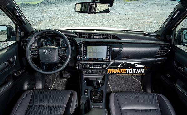 danh gia xe ban tai toyota hilux 2021 cua muaxetot.vn anh 20 - Toyota Hilux: giá bán chính thức, đặt xe khi nào có?