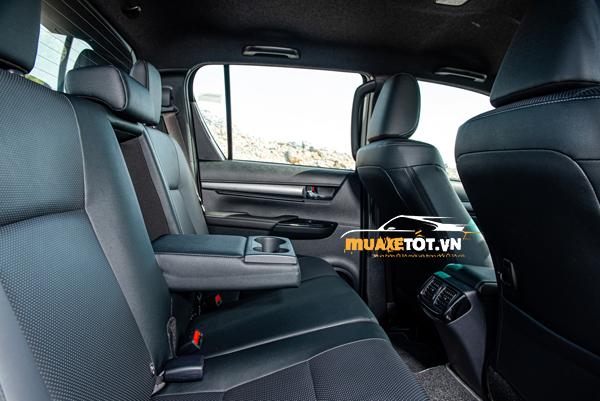 danh gia xe ban tai toyota hilux 2021 cua muaxetot.vn anh 22 - Toyota Hilux 2021: Giá xe và khuyến mãi hấp dẫn