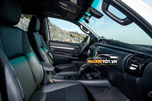 danh gia xe ban tai toyota hilux 2021 cua muaxetot.vn anh 23 - Toyota Hilux 2021: Giá xe và khuyến mãi hấp dẫn