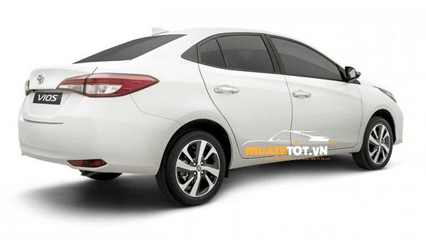 hinh anh xe toyota vios 2021 sedan cua muaxetot.vn anh 10 - Toyota Vios 2021: Giá xe và khuyến mãi hấp dẫn