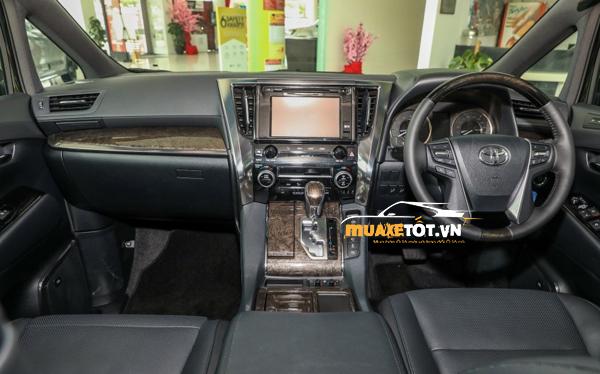 danh gia xe toyota alphard 2021 anh 11 - Toyota Alphard 2021: Giá xe và khuyến mãi hấp dẫn tháng [hienthithang]