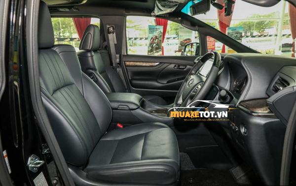 danh gia xe toyota alphard 2021 anh 16 - Toyota Alphard 2021: Giá xe và khuyến mãi hấp dẫn tháng [hienthithang]