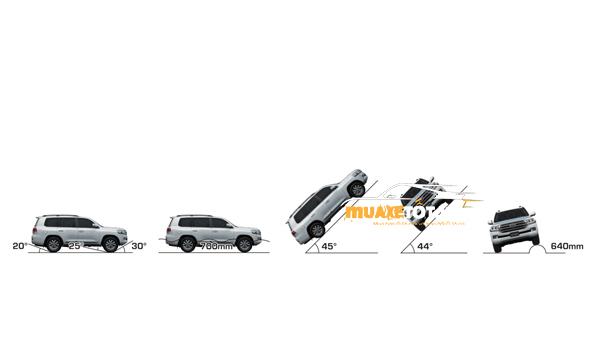 toyota land cruiser 2021 cua muaxetot.vn anh 14 - Toyota Prado 2021: Giá xe và khuyến mãi hấp dẫn