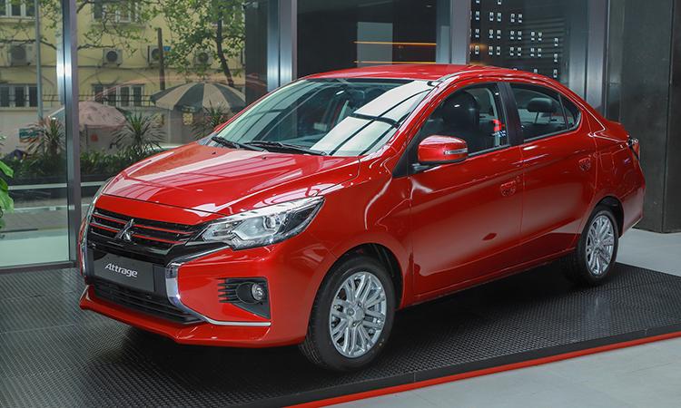 Mitsubishi Attrage - Mitsubishi Attrage [hienthinam]: thông số, giá xe & khuyến mãi tháng [hienthithang]