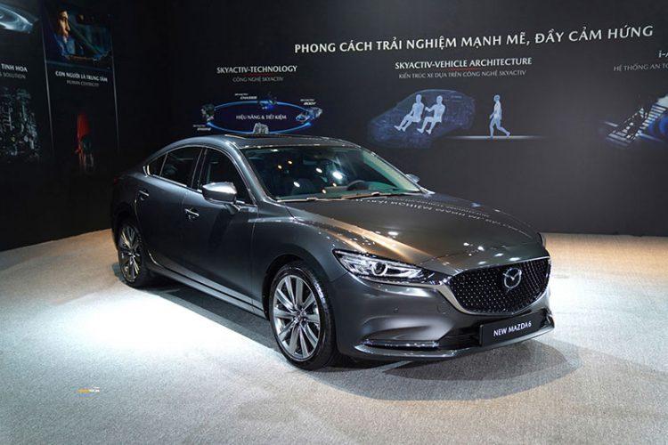 Mazda 6 1 750x500 - Mazda 6 [hienthinam]: thông số, giá xe & khuyến mãi tháng [hienthithang]