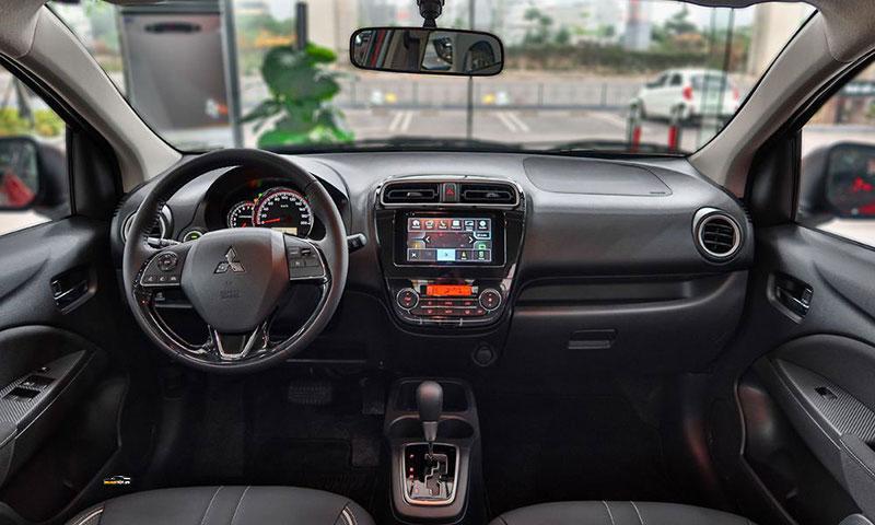Mitsubishi Attrage 1 - Mitsubishi Attrage [hienthinam]: thông số, giá xe & khuyến mãi tháng [hienthithang]