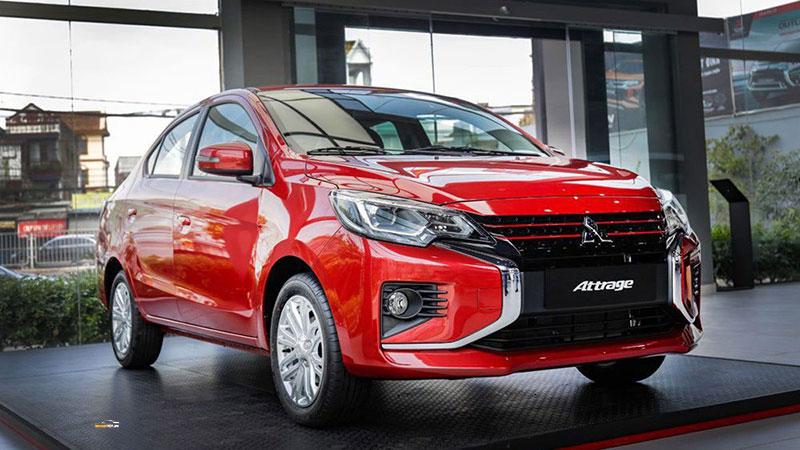 Mitsubishi Attrage 4 - Tư vấn trở thành tài xế Taxi Grab - Thủ tục - Chọn xe