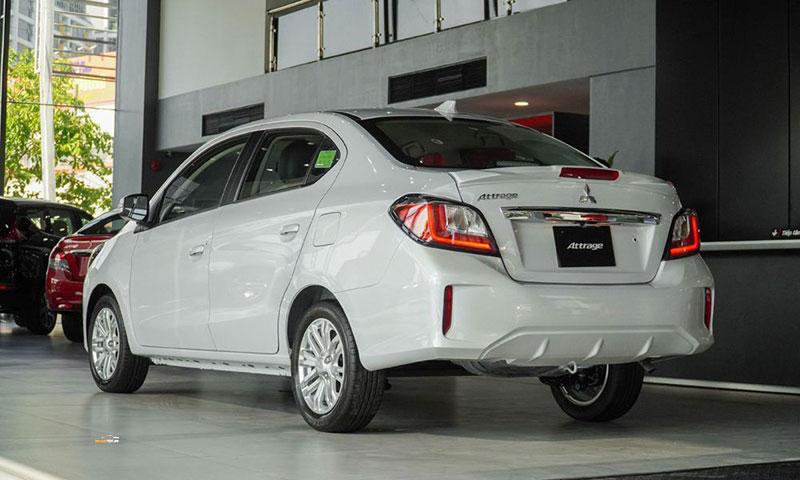 Mitsubishi Attrage 5 - Mitsubishi Attrage [hienthinam]: thông số, giá xe & khuyến mãi tháng [hienthithang]