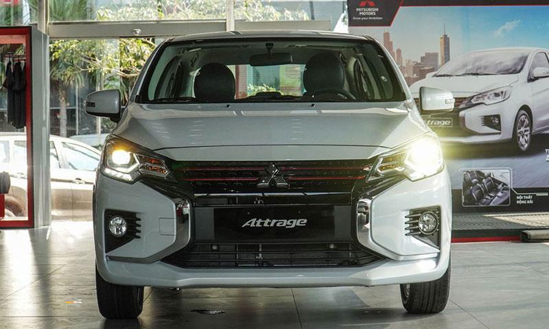 Mitsubishi Attrage 7 - Mitsubishi Attrage [hienthinam]: thông số, giá xe & khuyến mãi tháng [hienthithang]