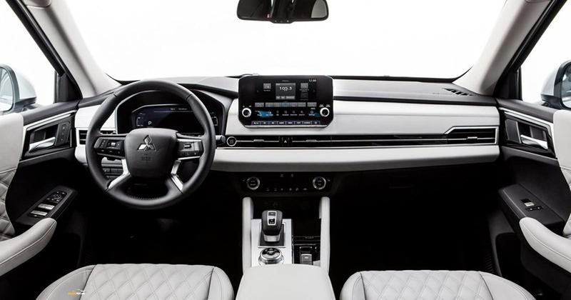 Mitsubishi Outlander 6 - Mitsubishi Outlander [hienthinam]: thông số, giá xe & khuyến mãi tháng [hienthithang]