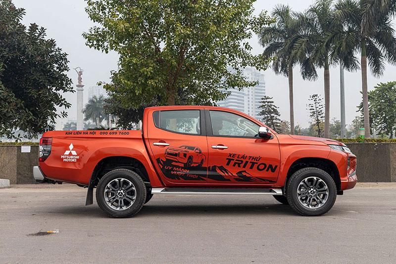 Mitsubishi Triton 4 - Mitsubishi Triton [hienthinam]: thông số, giá xe & khuyến mãi tháng [hienthithang]